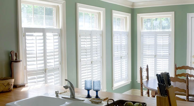 Shutters are made for temperature control